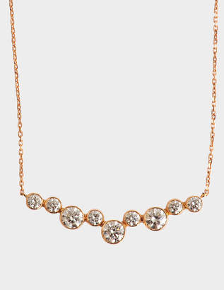 VANRYCKE Sakura necklace 750‰ gold and diamonds