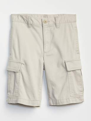 Gap Uniform action stretch cargo shorts