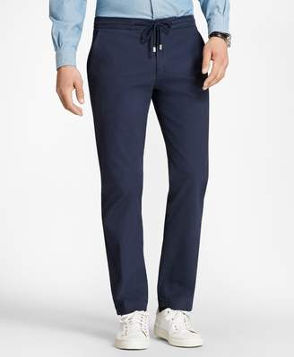 Brooks Brothers Canvas Stretch Drawstring Pants