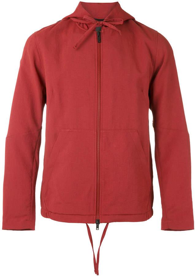 Theory zip hooded jacket