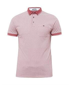Ted Baker Ss All Over Print Polo