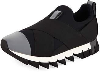 Dolce & Gabbana Men's Chunky Nylon Stretch Sneakers
