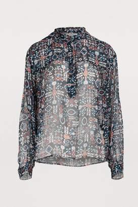 Etoile Isabel Marant Emana silk blouse