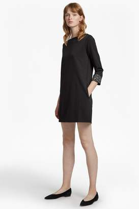 French Connection Deja Sparkle Long Sleeve Tunic Dress