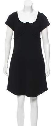 Marc Jacobs Wool Mini Dress