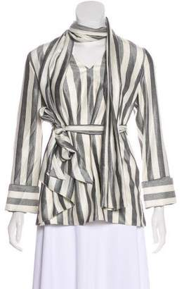 Nellie Partow Ava Striped Top w/ Tags