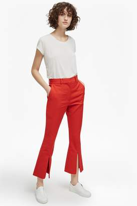 French Connection Glass Stretch Kick Flare Trousers