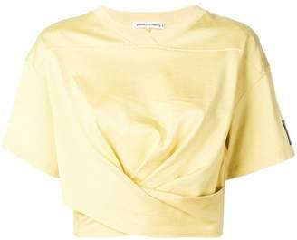 Alexander Wang cropped twist T-shirt