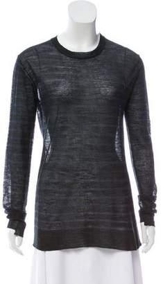 Alexander Wang Long- Sleeve Knit Top
