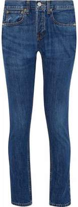 Levi's Re/Done By Faded Mid-Rise Slim-Leg Jeans
