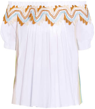 Peter Pilotto Panelled Cotton Top