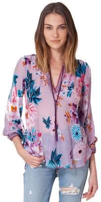 Hale Bob Tracy Silk Velvet Tunic