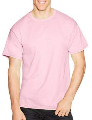 Hanes Big & Tall Men's EcoSmart Soft Jersey Fabric Short Sleeve T-shirt