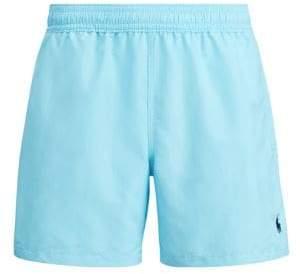 Polo Ralph Lauren Men's Luxury Nylon Explorer Shorts - Blue - Size Small