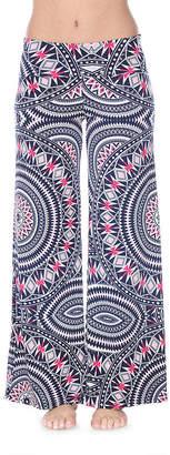 WHITE MARK White Mark Womens Mid Rise Wide Leg Palazzo Pant
