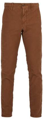 Incotex Slim Leg Chino Trousers - Mens - Orange