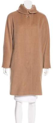 Max Mara Wool & Cashmere Knee-Length Coat