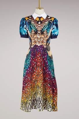 Mary Katrantzou Osprey silk dress