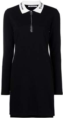 Alexander Wang quarter zip polo dress