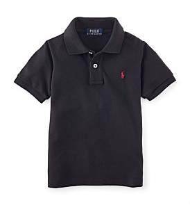 Polo Ralph Lauren Solid Mesh Polo Shirt (2-7 Years)