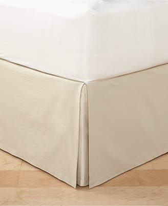 Hotel Collection Distressed Chevron California King Bedskirt, Created for Macy's