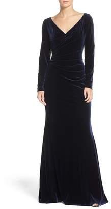 Vince Camuto Velvet Gown