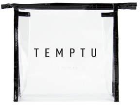 Temptu Signature Clear Makeup Bag - Medium