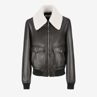 Bally Nappa Leather Blouson Jacket