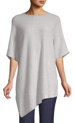 Saks Fifth Avenue Asymmetrical Cashmere Tunic Sweater