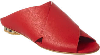 Salvatore Ferragamo Lasa Leather Sandal