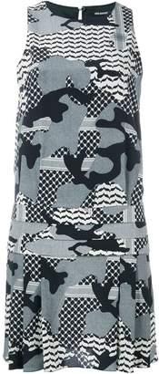 Neil Barrett camouflage print dress
