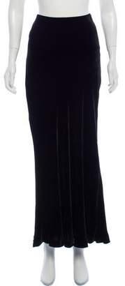 Ralph Lauren Velvet Maxi Skirt w/ Tags