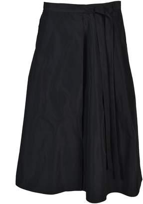 Jil Sander Woven Wide Faille Skirt