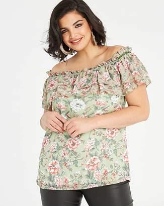 d3e50ca6d2ab1 Plus Size Ruffle Top - ShopStyle UK