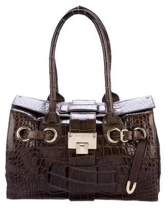 Jimmy Choo Crocodile Rosalie Bag