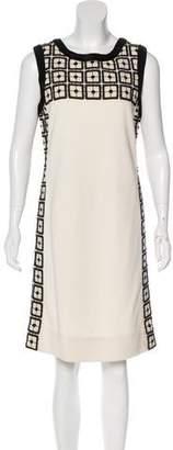 Tory Burch Sleeveless Sheath Dress