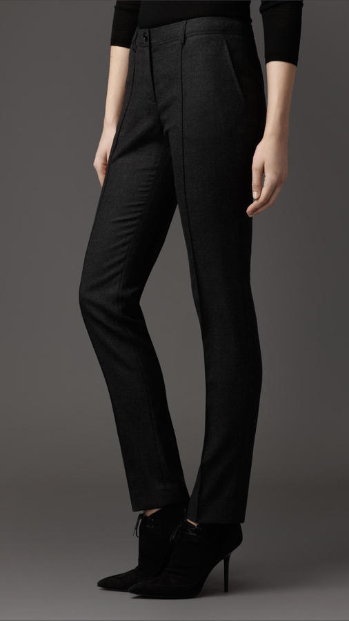 Burberry Travel Tailoring Microcheck Trousers