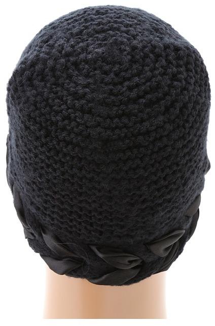 San Diego Hat Company KNH3290 Knit Weaved Ribbon Beanie