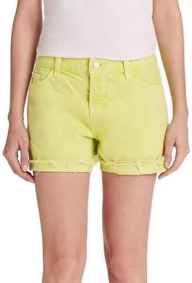 J Brand Women's Joanie Rolled Boyfriend Shorts