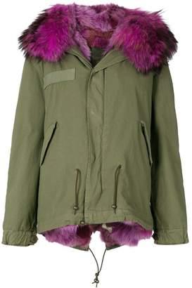 Mr & Mrs Italy fur lined short parka