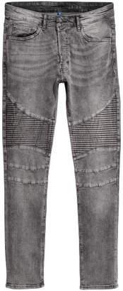 H&M Biker Jeans - Gray