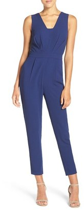Women's Adelyn Rae Sleeveless Jumpsuit $98 thestylecure.com