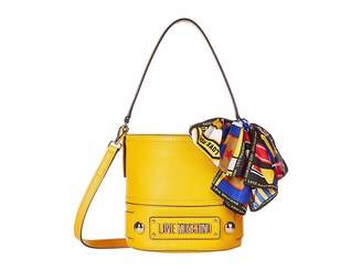 Love Moschino Bucket Bag with Scarf