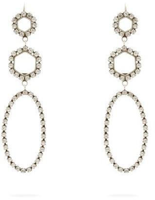 Isabel Marant Crystal Drop Earrings - Womens - Crystal