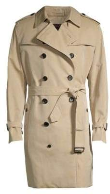 Sanyo Double-Breasted Trench Coat