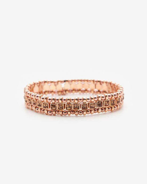 Philippe Audibert Lyse Crystal Rhinestone Bracelet