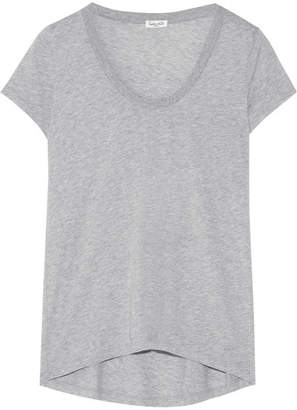 Splendid Cotton And Modal-blend Jersey T-shirt - Gray