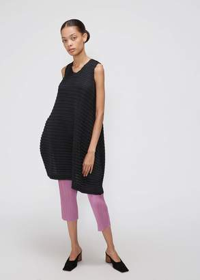 Pleats Please Issey Miyake Sleeveless Square Top Dress