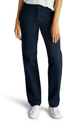 Lee Original Plain-Front Pants - Petites