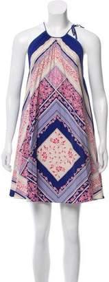 Nicole Miller Silk Printed Dress